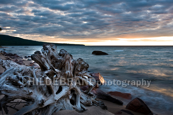 Lake Superior Sunset - No.4