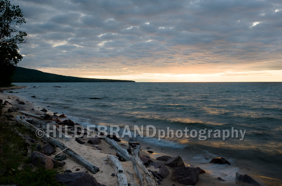 Lake Superior Sunset - No.3